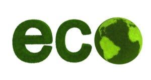 概念地球绿色 图库摄影