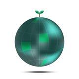 概念地球绿色留下本质 图库摄影