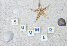 概念夏天 免版税图库摄影
