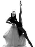 概念夫妇舞蹈演员爱执行者 免版税库存图片