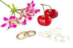 概念婚姻 免版税库存图片