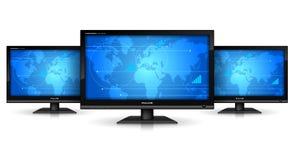 概念媒体技术 免版税库存图片