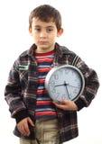 概念学校时间 图库摄影