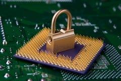 概念安全技术 免版税库存图片