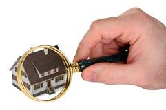 概念家庭检验 免版税库存图片