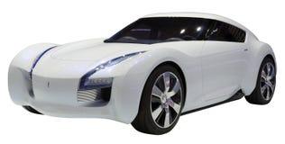 概念小轿车孤立 免版税图库摄影