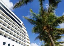 概念巡航热带假期 免版税库存照片