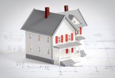 概念建筑 免版税库存图片