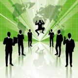 概念性企业背景 向量例证