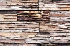 概念性木墙壁 库存照片