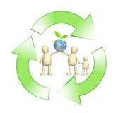 概念性环境图象保护 免版税库存照片