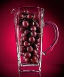 概念性的葡萄汁 免版税库存照片