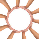 概念性符号团结 免版税库存图片