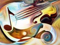 概念性音乐 免版税库存照片