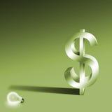 概念想法货币 库存照片