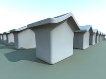 概念房产 向量例证