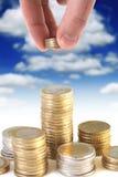 概念投资 免版税库存图片