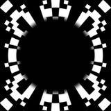 黑洞概念摘要设计 免版税库存照片