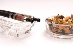概念擦净剂抽烟 免版税库存照片
