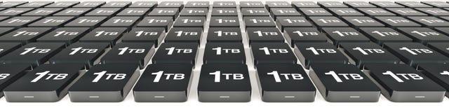 概念数据存储 免版税库存照片