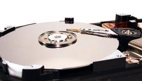 概念数据盘困难媒体开张了安全证券存贮 免版税图库摄影
