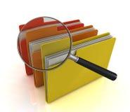 概念文件 免版税库存照片