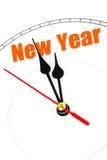 概念新年度 库存照片