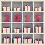 概念新年好 免版税库存图片