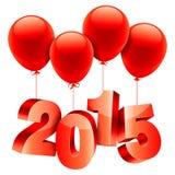 概念新年度 免版税库存图片
