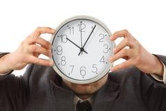 概念时间工作 免版税库存照片