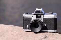 概念查出的摄影白色 免版税库存图片
