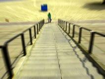 概念楼梯 免版税图库摄影