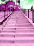概念楼梯 免版税库存照片