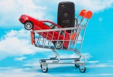 概念汽车销售 免版税库存图片