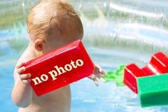 概念没有照片或中止无固定职业的摄影师 私人生活 免版税库存照片