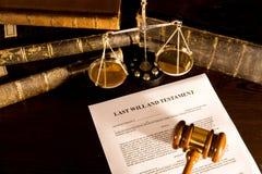 概念法律将 免版税图库摄影