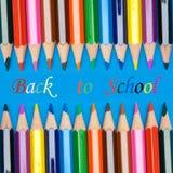 概念照片返回的学校 免版税库存图片