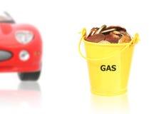 概念燃料 免版税库存图片