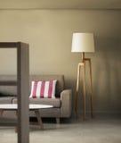 概念现代装饰的家 免版税图库摄影