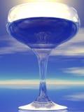 概念玻璃 免版税库存图片