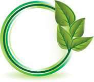 概念生态绿色 库存照片