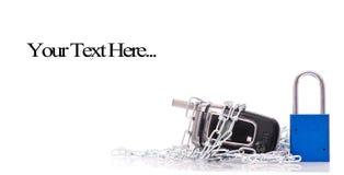 概念电话安全 库存图片