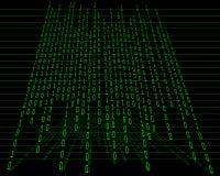 概念矩阵 免版税图库摄影