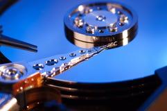 概念磁盘驱动器困难hdd 免版税库存图片