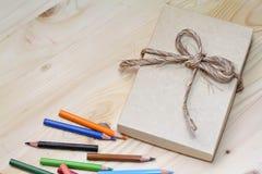概念礼物盒 免版税库存照片