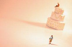概念离婚分隔 库存照片