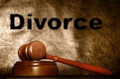 概念离婚 库存照片