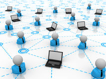 概念网络连接 免版税库存图片