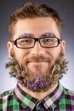 概念胡子 免版税库存照片