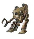 概念艺术机器人装载者或机器人的科幻例证 皇族释放例证